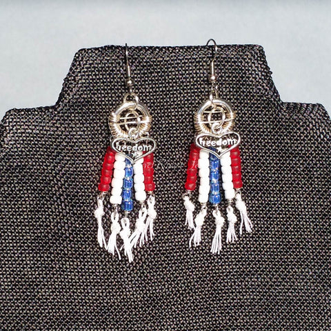 Earrings--Freedom On The Fringe