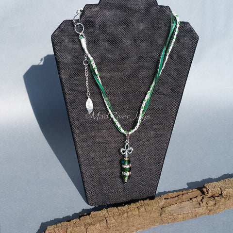 Necklace--Royal Collection--Emerald