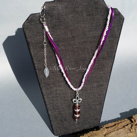 Necklace--Royal Collection--Amethyst