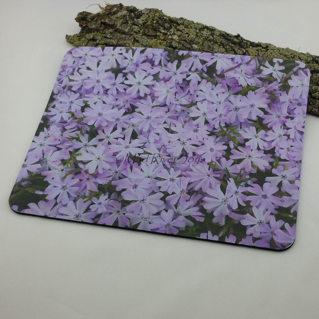 Mouse Mat--Photo Print--Foam--Lavender Phlox