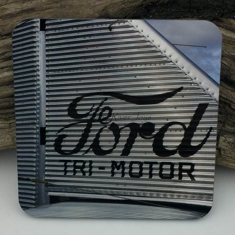 Coaster--Photo Print--Cork--Ford Tri-Motor Tail