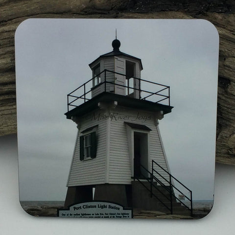 Coaster--Photo Print--Cork--Port Clinton Light Station