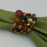 Napkin Rings--Fall Brown