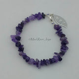 Anklet--Natural Stone Pebble