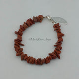 Bracelet--Natural Stone Pebble