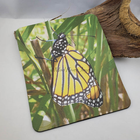 Mouse Mat--Photo Print--Foam--Monarch Butterfly