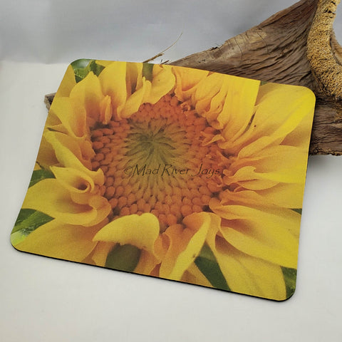 Mouse Mat--Photo Print--Foam--Sunflower