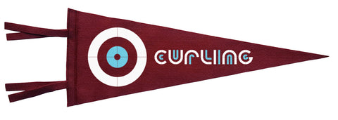 Curling Pennant