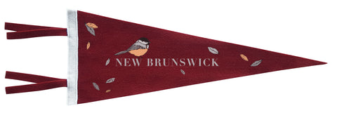 New Brunswick Chickadee Pennant