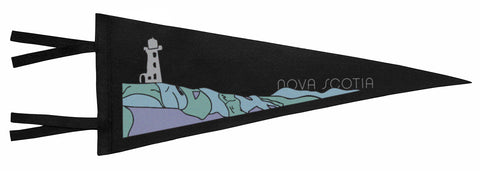 Nova Scotia Lighthouse Pennant