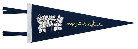 Flower of Nova Scotia Pennant