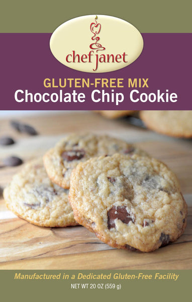 Gluten-Free Rice Free Chocolate Chip Cookie Mix - gluten free Chef Janet K