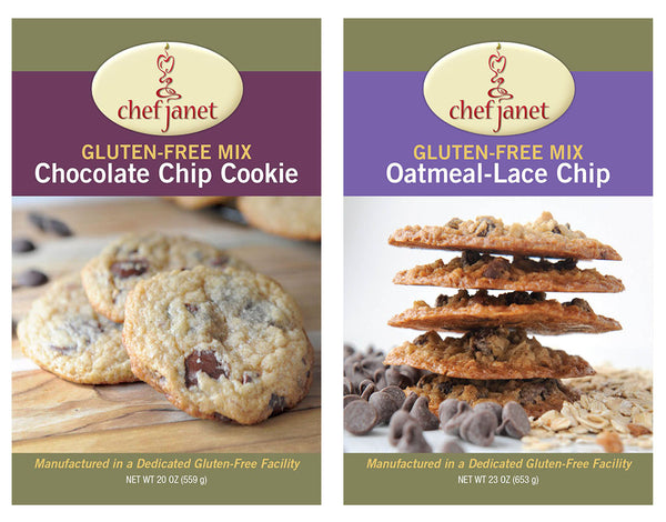 Cookie Duo - FREE SHIPPING - gluten free Chef Janet K