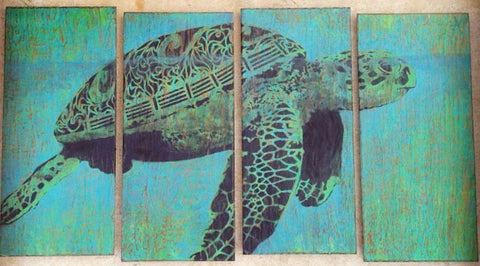 Turtle Painting Ross McDowell
