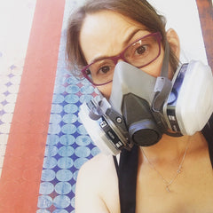 safety first, mask, sanding, good advice