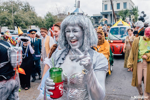 Mardi Gras Costume New Orleans Tin Man