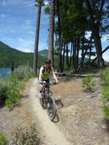 mountain biking Applegate Lake Applegate Valley Oregon