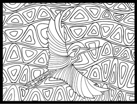 Marigny Goodyear Art Coloring Page