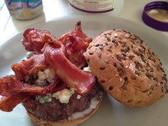 bacon blue cheese burger comfort_food