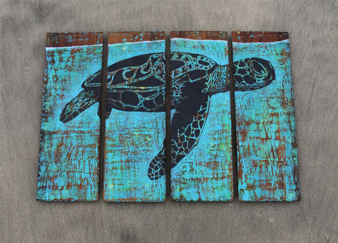 Ross Mcdowell Sea Turtle Painting