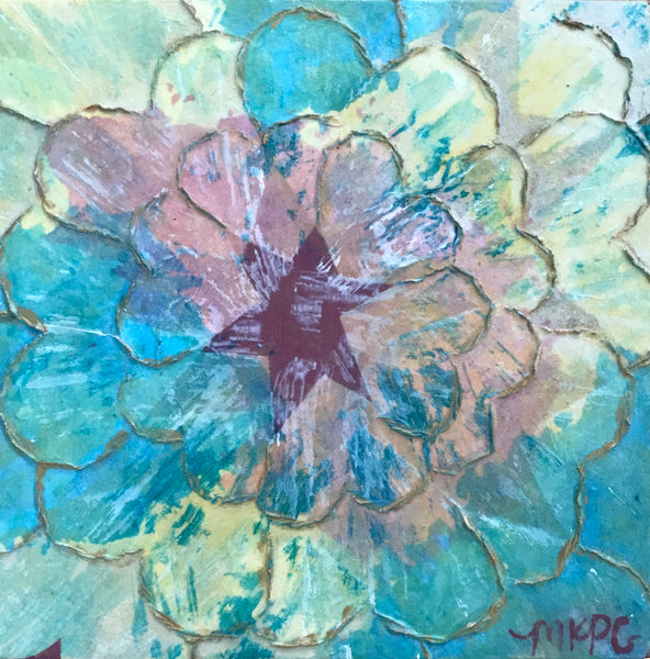 Marigny Goodyear Art Heart Flower