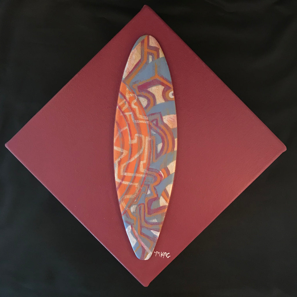 Marigny Goodyear Art Surfboard