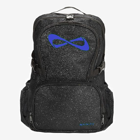 Nfinity Purple Sparkle Backpack