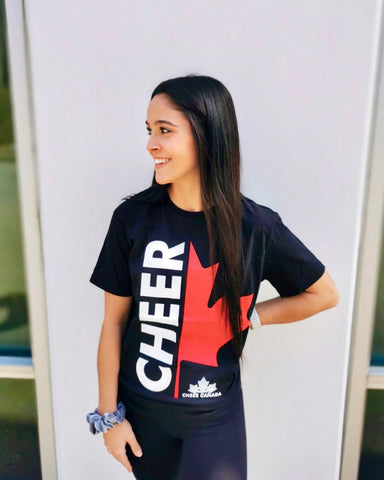 Team Canada Cheer Rhinestone Tank