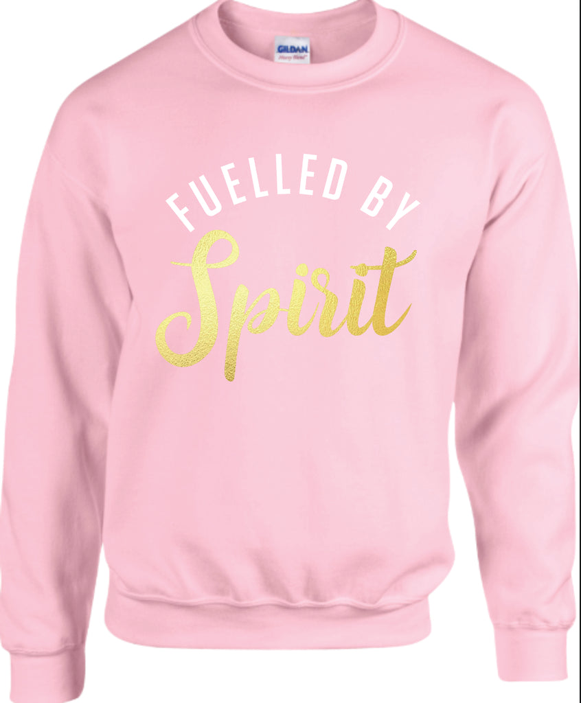Fuelled by Spirit Adult Crewneck/Youth Hoodie
