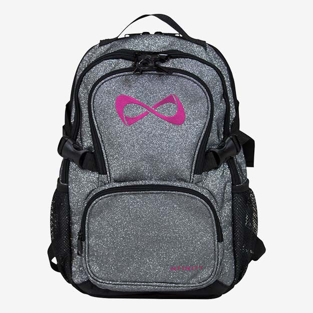 Nfinity Petite Sparkle Backpack - Pink Logo