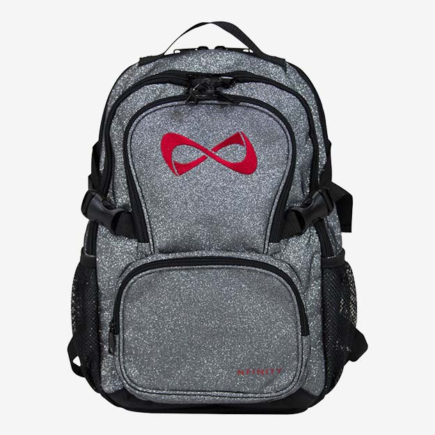 Nfinity Petite Sparkle Backpack -Red Logo