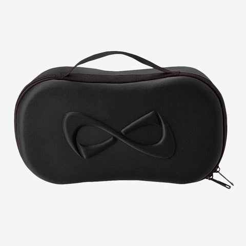Nfinity Black Sateen Fanny Pack
