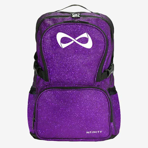 Nfinity Teal Sparkle Backpack
