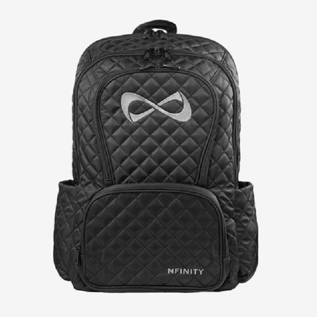 Nfinity Quilted Backpack - White Logo