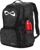 Nfinity Black Sparkle Backpack - White Logo