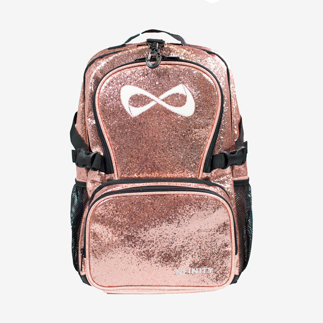 *Pre-Order* Nfinity Millennial Pink Sparkle Backpack