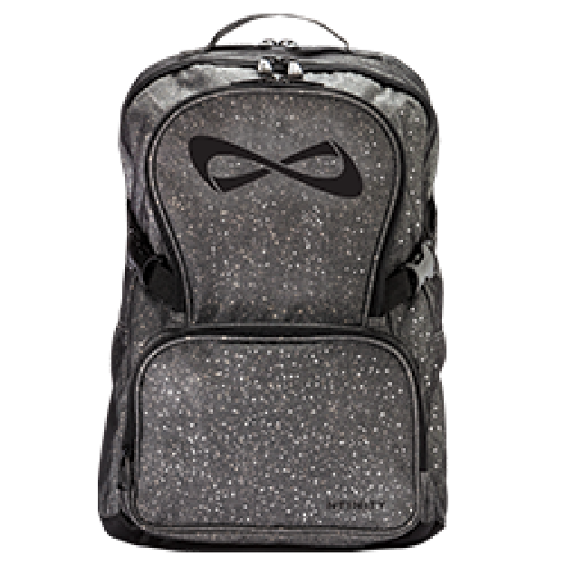 Nfinity Petite Sparkle Backpack - Black Logo