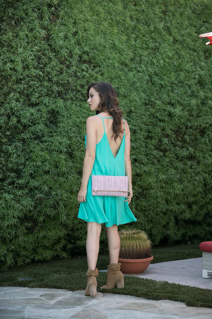 Look On The Bright Side Tank Dress