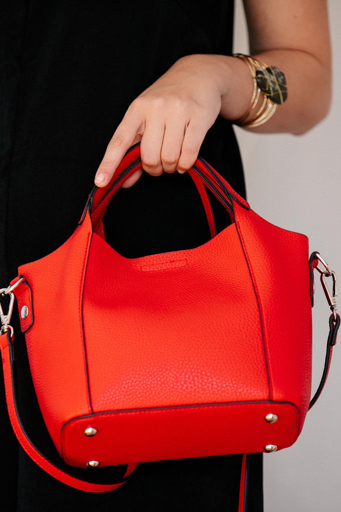 Red Hand Bag - Basically Me
