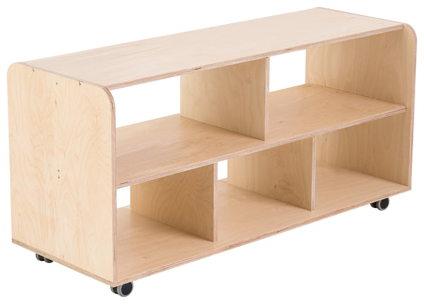 Modular Five Cubby Hole Storage Unit