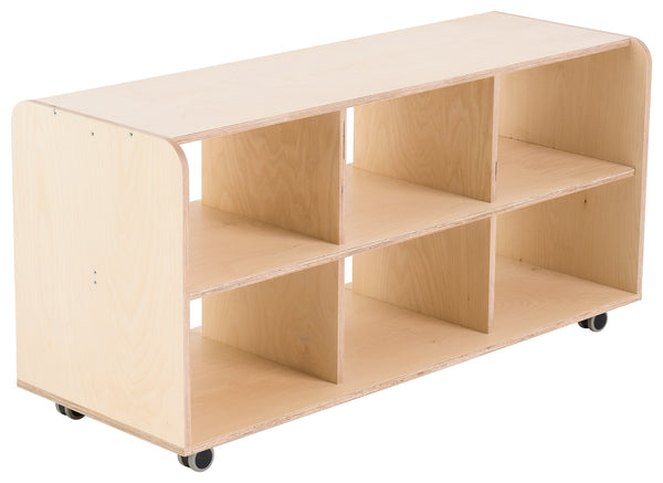 Modular Six Cubby Hole Storage Unit