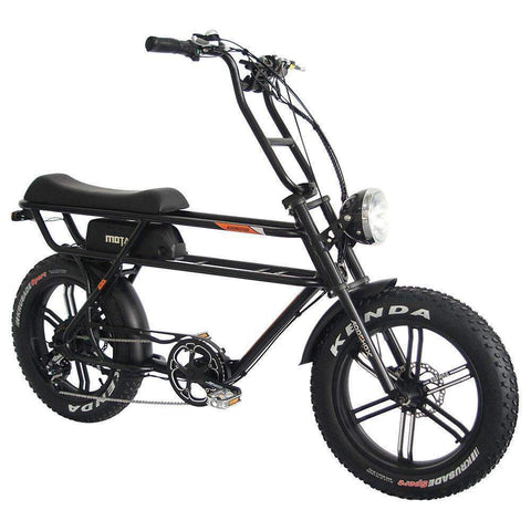 MOTAN M-70 Retro Electric Cruiser Beach Fat Bike