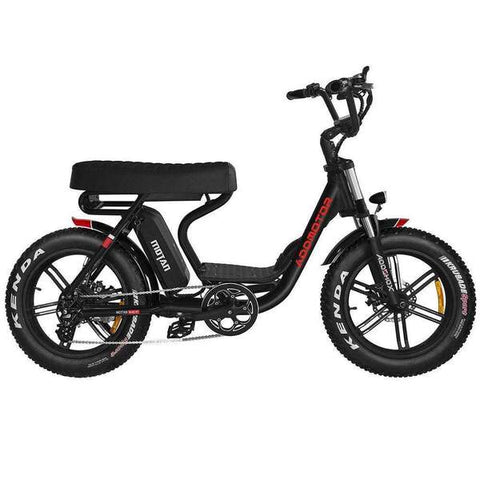 MOTAN M-66 R7 Step-Thru Electric Fat Bike Mini Moped Motorbike