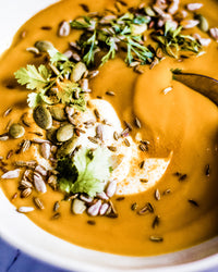 Spiced Caramelised Pumpkin Soup