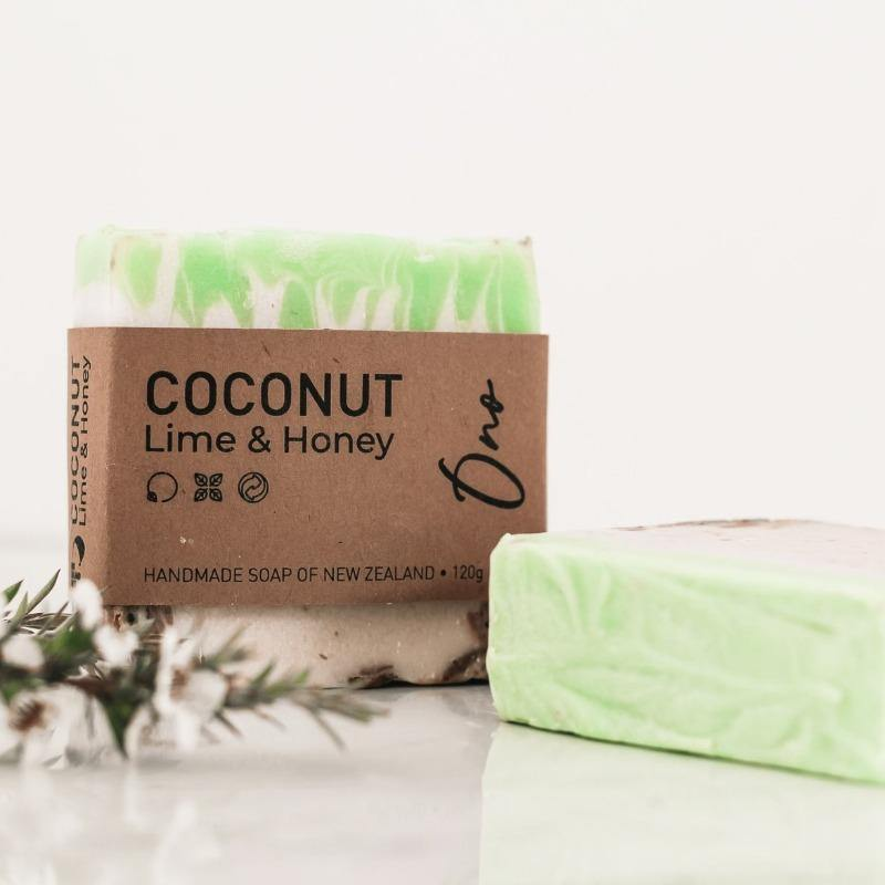 Kai Ora Honey Handmade Coconut Lime & Honey Soap