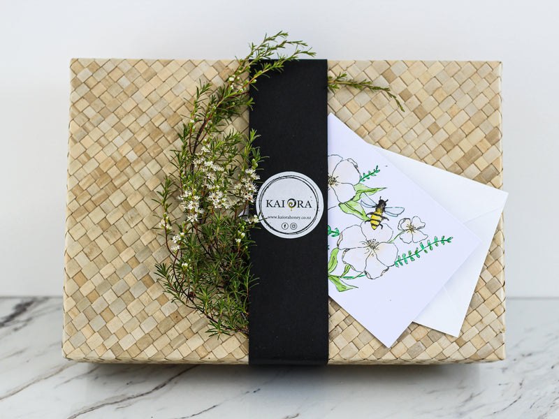 Kai Ora Honey Kanuka Kisses Gift Box