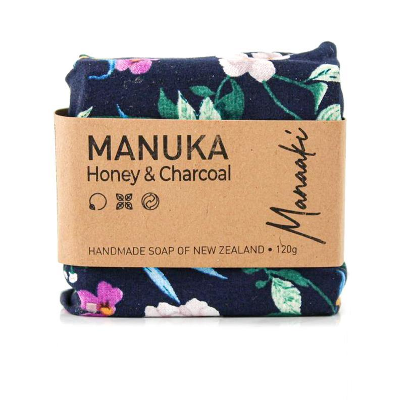 Kai Ora Honey Handmade Manuka Honey & Charcoal Soap