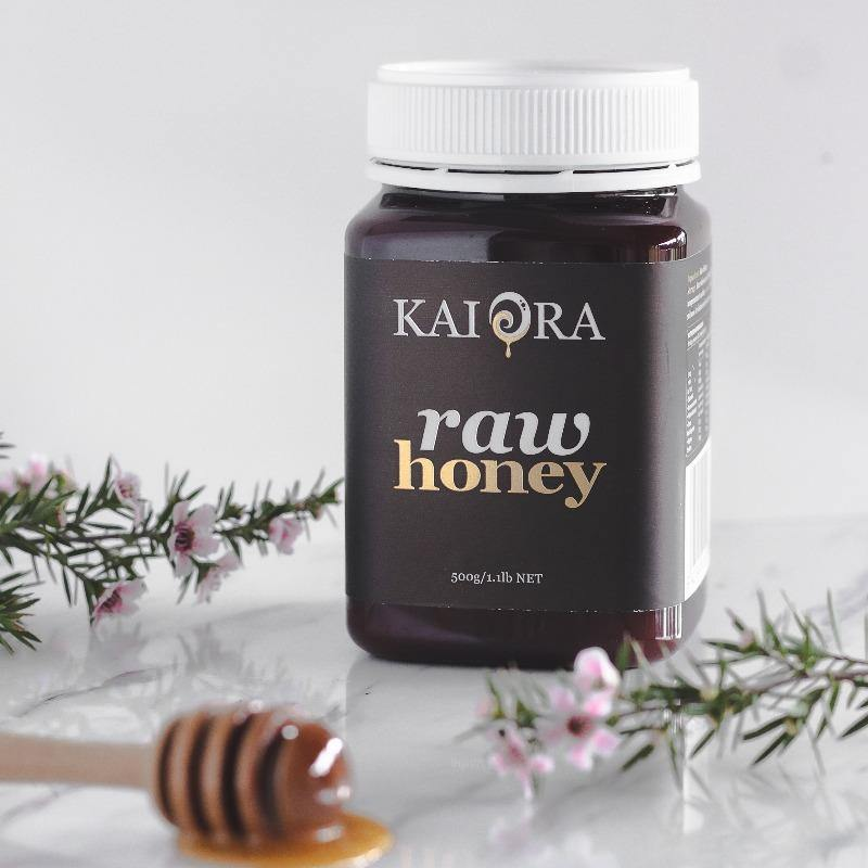 Kai Ora Black Label Raw Honey 500g
