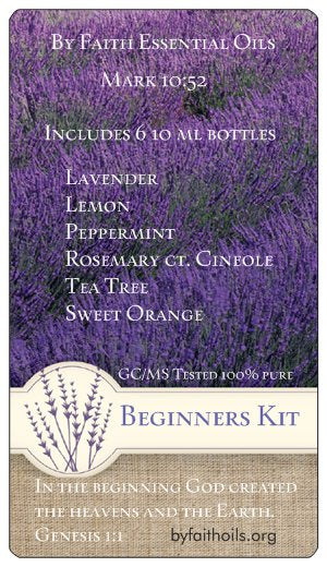 Beginners Kit - Genesis 1:1 - By Faith Essential Oils