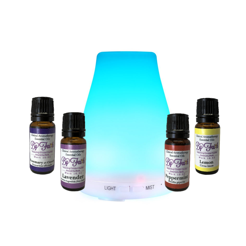 By Faith Diffuser Kit - By Faith Essential Oils